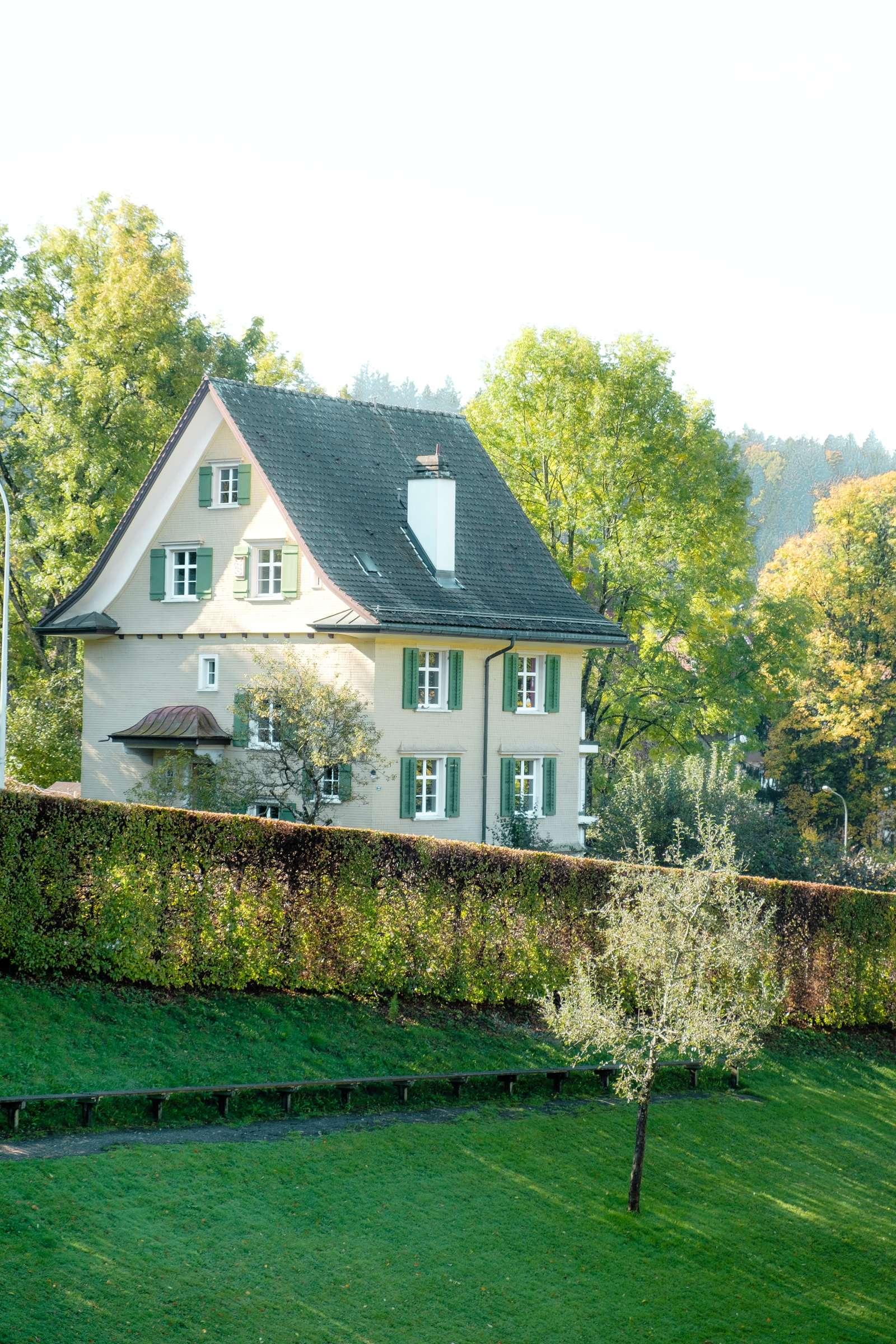 Cute big house at Drei Weieren in St. Gallen