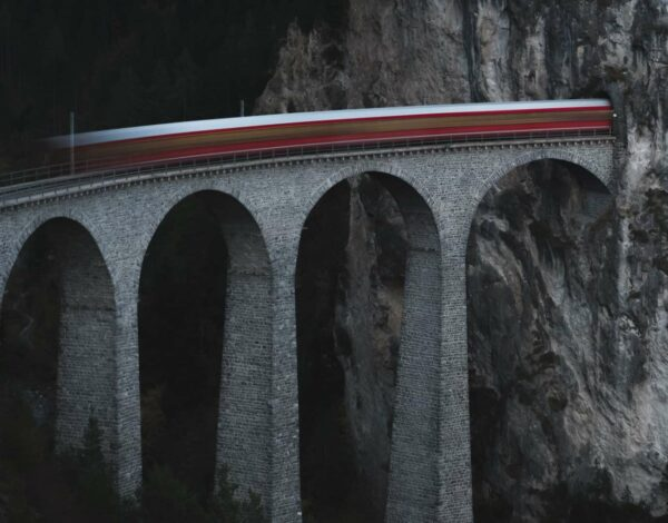 Filisur: On the path of the Glacier Express