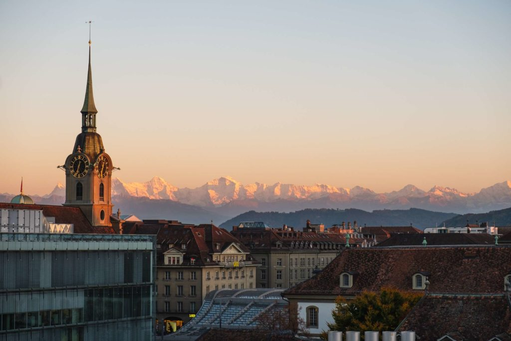Golden Sunset over Bern