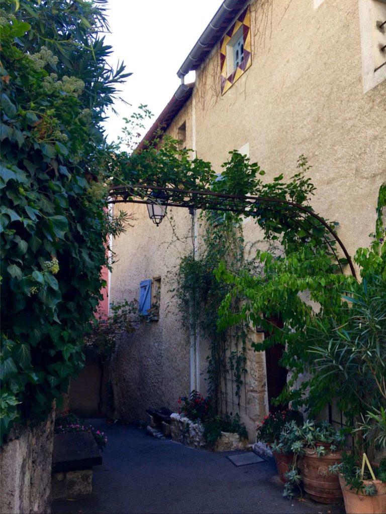 A street in Moustiers-Sainte-Marie