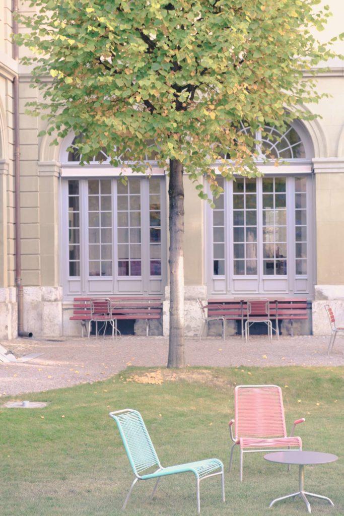 Berner GenerationenHaus courtyard