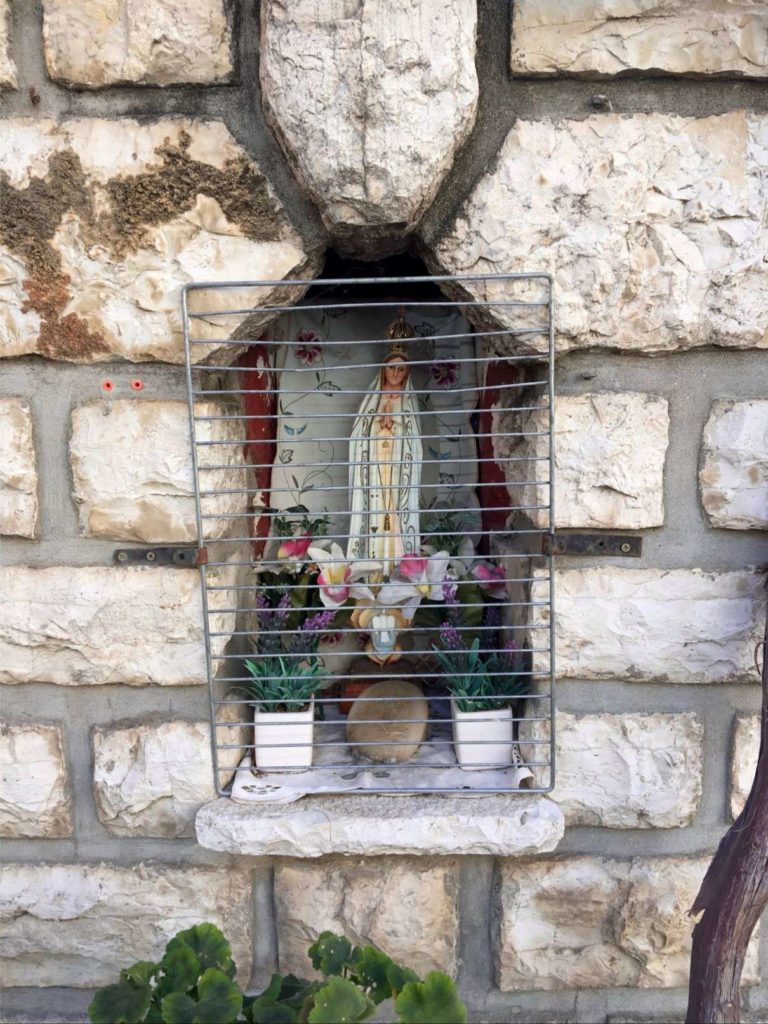 Shrine for Saint Mary in Moustiers-Sainte-Marie