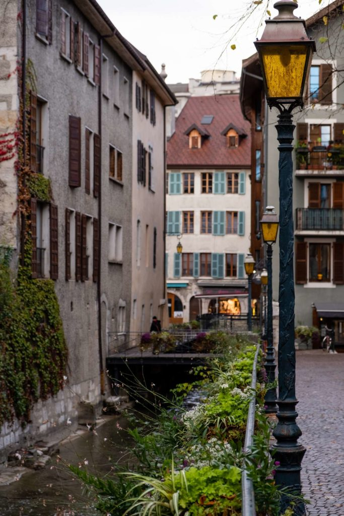 Side streets of Annecy