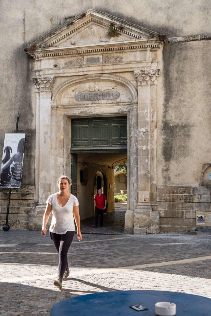 Caroline in Arles