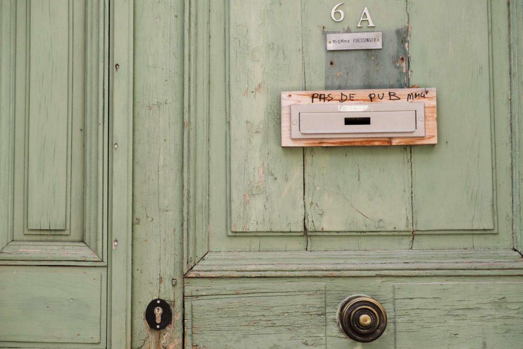 Door details in Arles