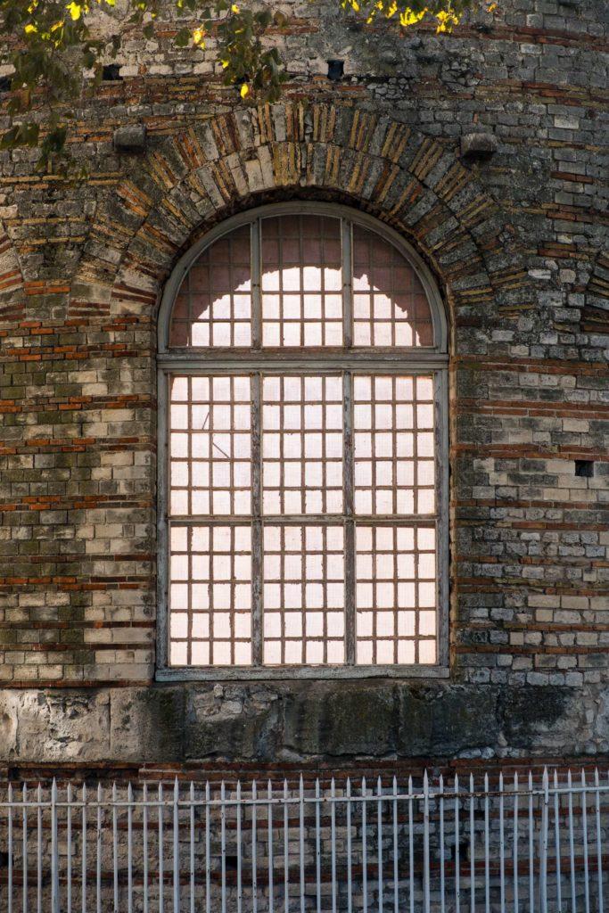 Thermes de Constantin window detail