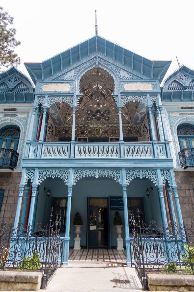 Blue Palace Firuza, Borjomi, nowadays Golden Tulip Hotel