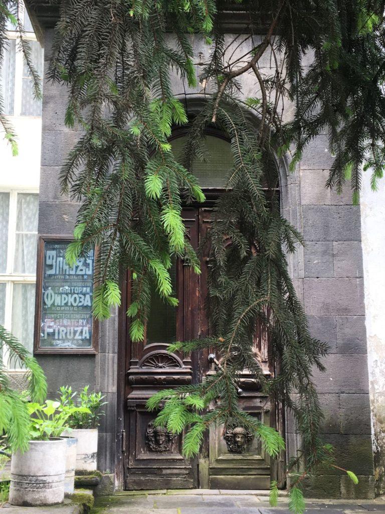 Door in Borjomi, Samtskhe-Javakheti