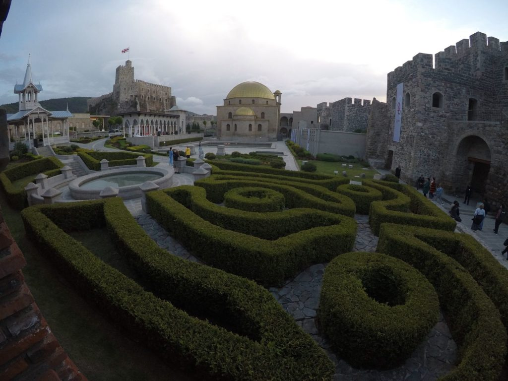 Maze in Rabati Castle, Samtskhe-Javakheti
