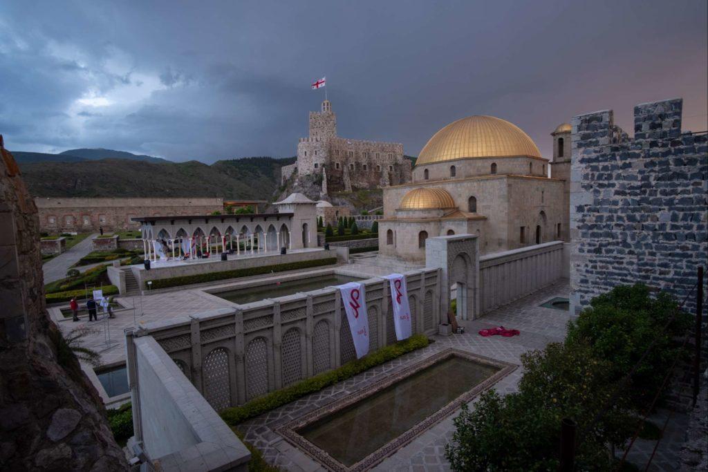 Rabati Castle, Samtskhe-Javakheti, just before the storm