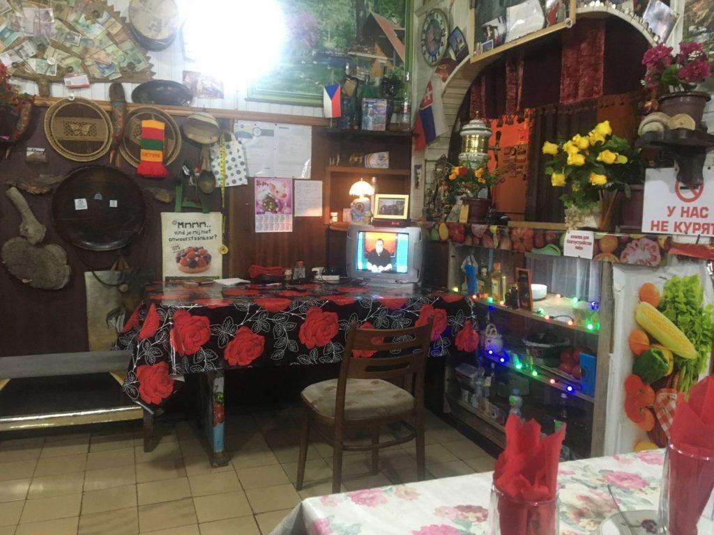 Strange restaurant in Borjomi