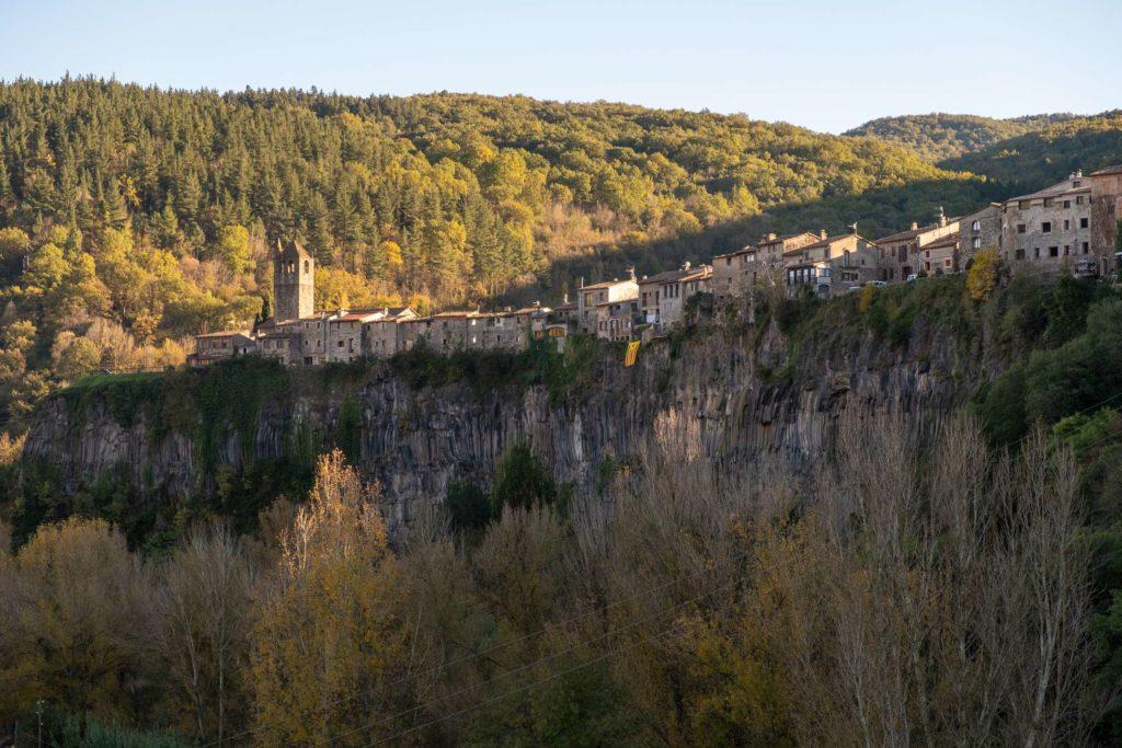 Castellfollit de la roca in Catalonia