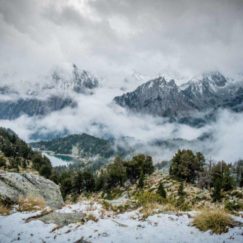 Pyrenees mountains around Espot