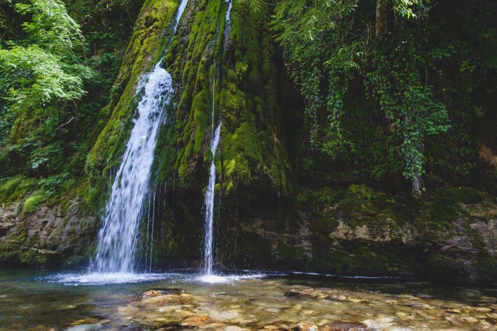 Kaghu waterfall (კაღუს ჩანჩქერი) on Abasha river