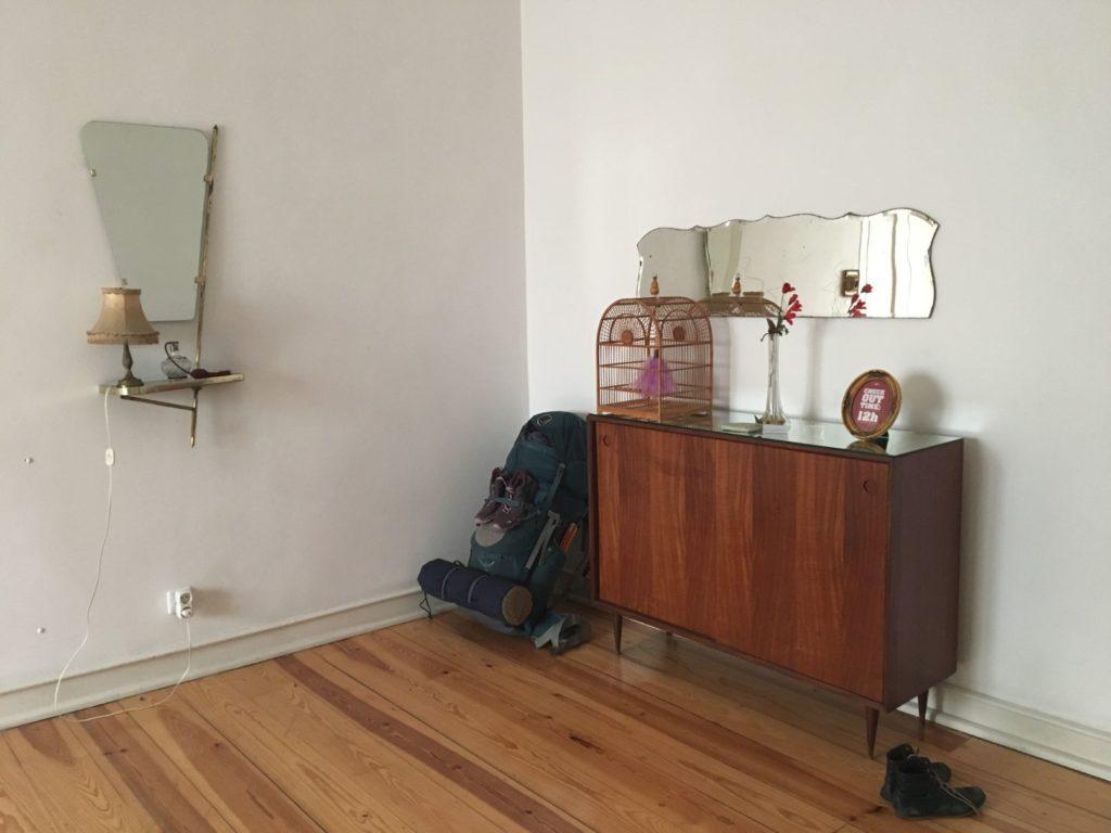 Lisbon Calling Hostel private room corner