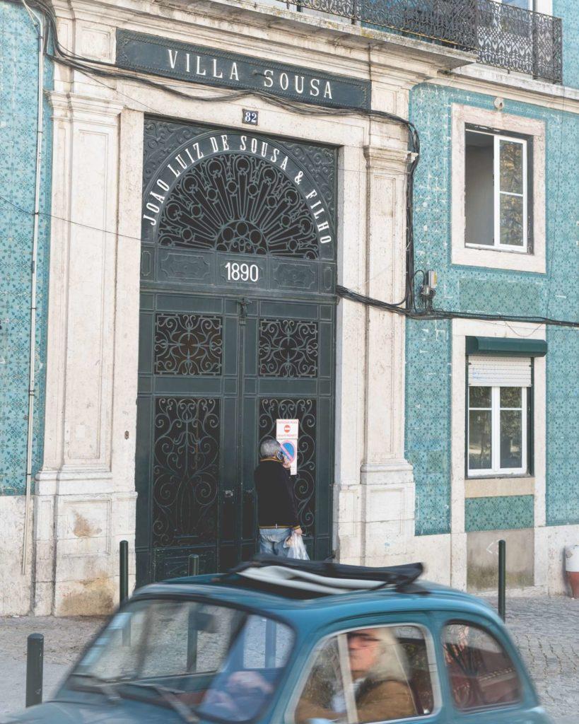 Villa Sousa and matching coloured car