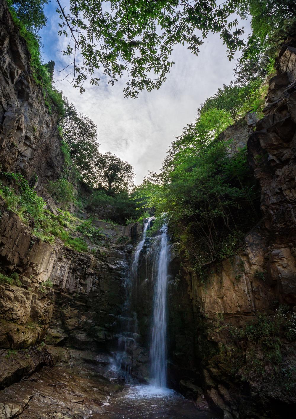 Leghvtakhevi waterfall in Tbilisi
