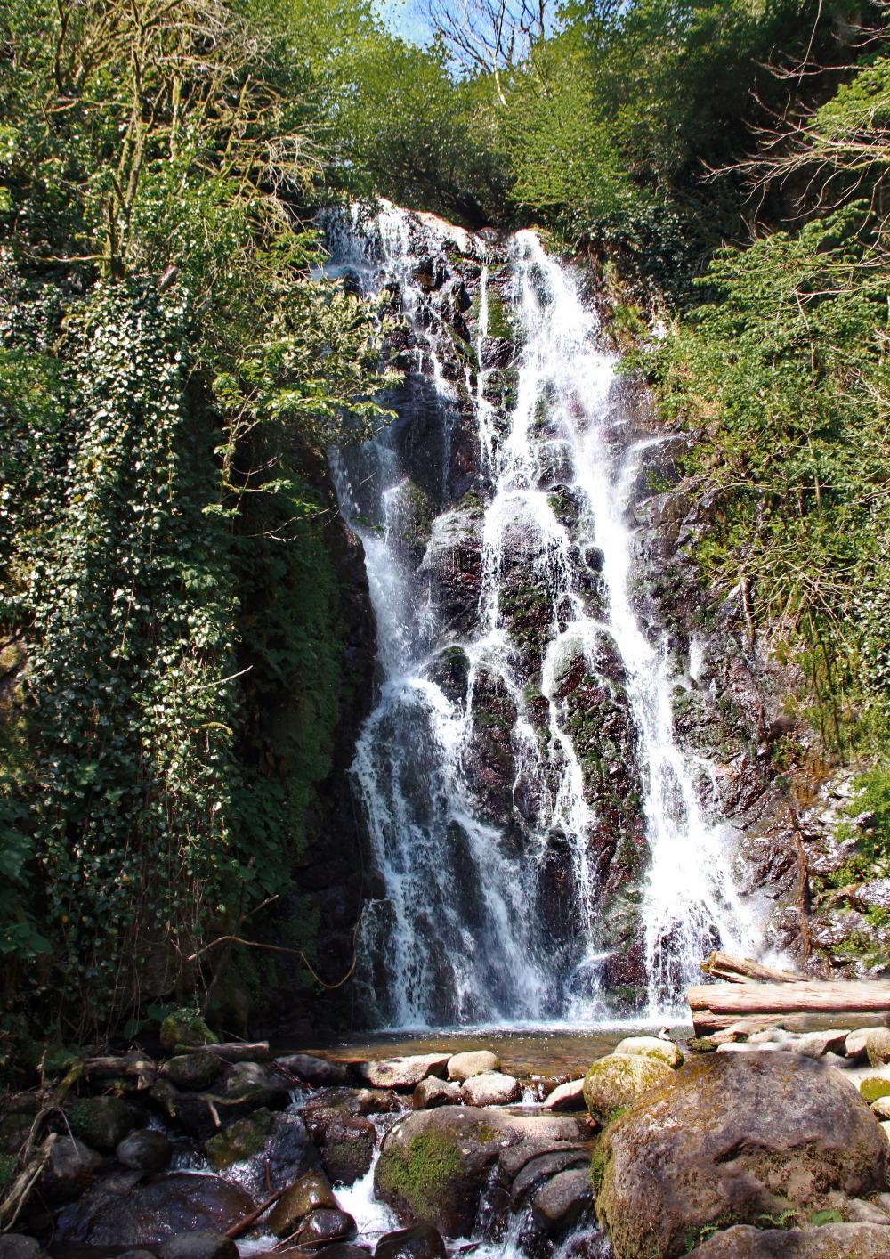 Mirveti waterfall in Adjara