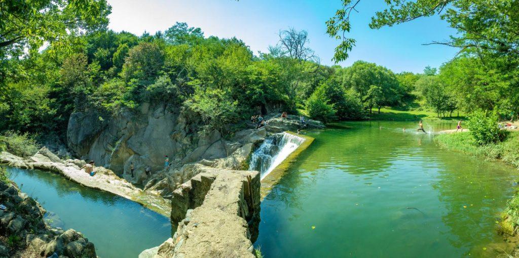 Samcvera waterfall, Georgia