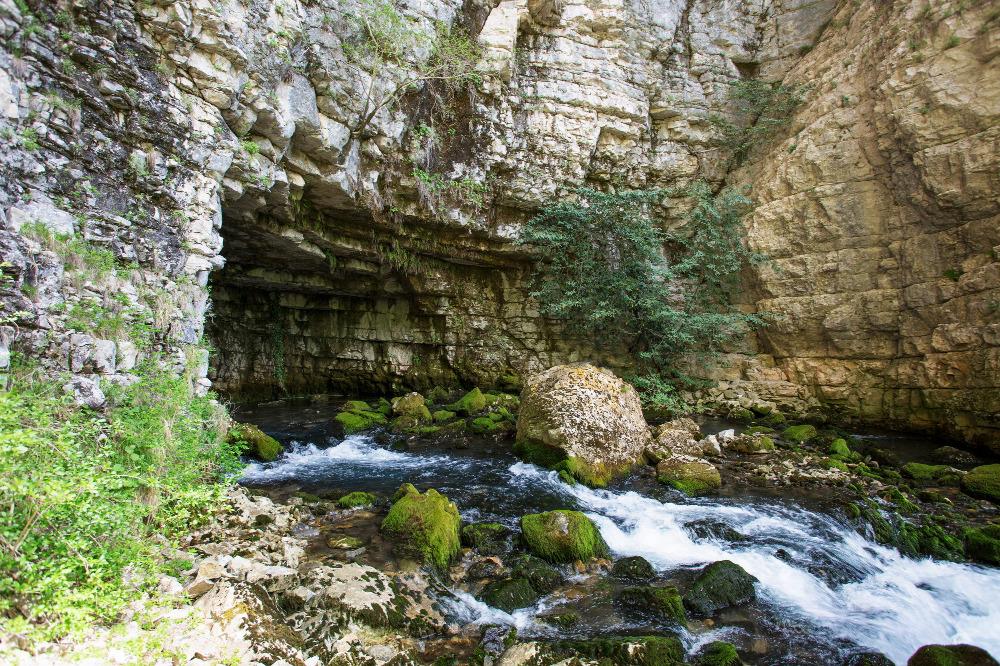 Toba cave in Samegrelo, Georgia